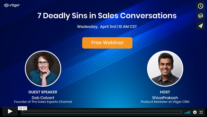 deadly sins in sales conversations