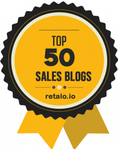 top 50 sales blog